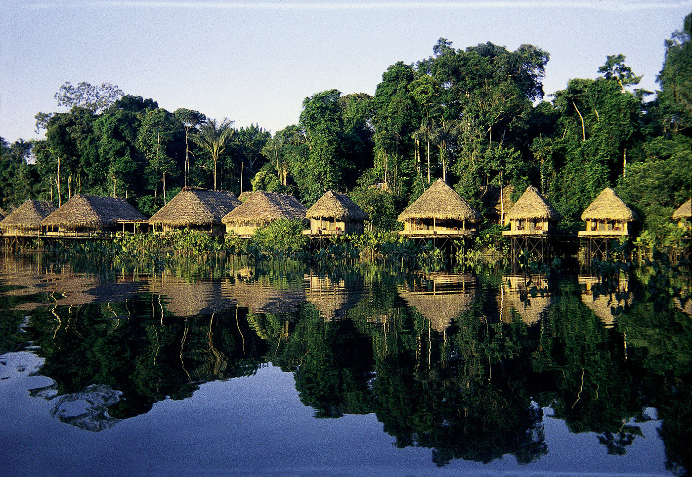 Kapawi Lodge Lake View